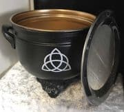Celtic Triquetra Metal Incense Resin Burner | Pagan, Wicca & Witchcraft Supplies